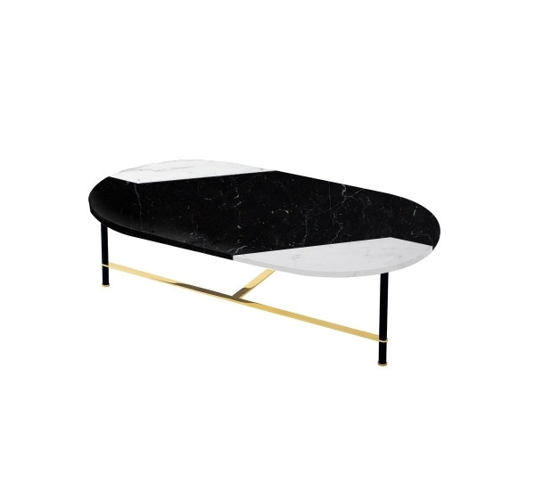 Gallotti&radice Cookies Coffee Table L Marble | Mohd Shop In Suspend Ii Marble And Wood Coffee Tables (Image 13 of 40)