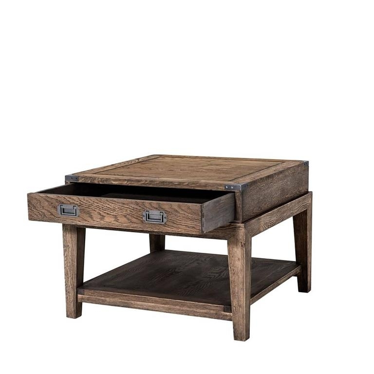 Gi Side Table In Solid Oak Smoked Finish For Sale At 1Stdibs Pertaining To Smoked Oak Side Tables (Image 10 of 40)