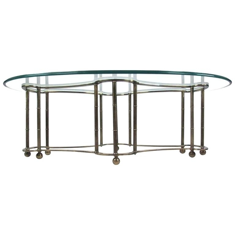 Glass Brass Coffee Table Acrylic Brushed Brass Coffee Table Glass With Acrylic & Brushed Brass Coffee Tables (Image 24 of 40)