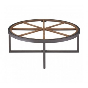 Glass Coffee Tables Pertaining To Natural Wheel Coffee Tables (Image 18 of 40)