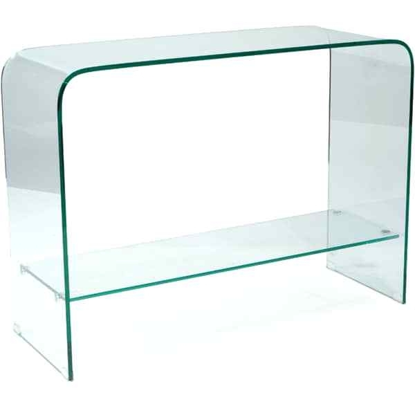 Glass Waterfall Coffee Table Modern Glass Waterfall Coffee Table For Throughout Square Waterfall Coffee Tables (Photo 11 of 40)
