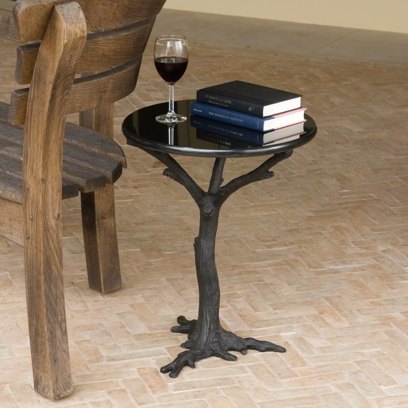 Global Views Faux Bois End Table | Wayfair Intended For Faux Bois Coffee Tables (View 16 of 40)