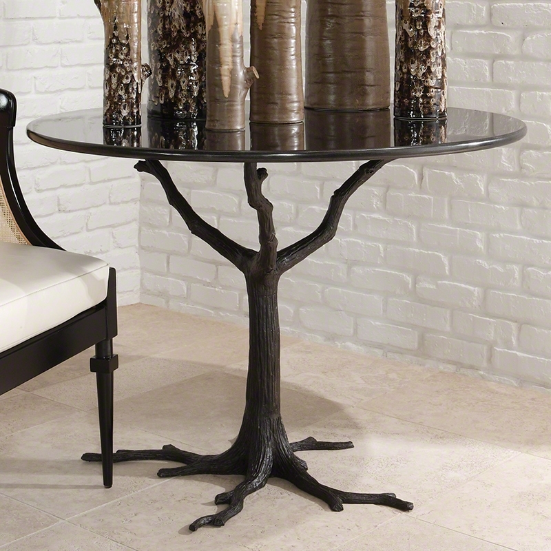 Global Views | Products | Faux Bois Dining Table Within Faux Bois Coffee Tables (View 5 of 40)