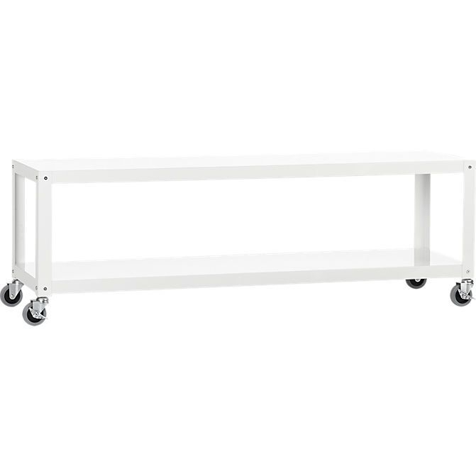 Featured Image of Go Cart White Rolling Coffee Tables