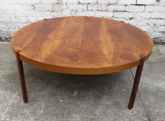Gorgeous Large Round Coffee Tables With Coffee Table Danish Mid With Large Teak Coffee Tables (View 7 of 40)