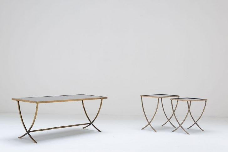 Grey Coffee Table Brass Glass Cocktail Table Bronze Entry Table Best Regarding Acrylic & Brushed Brass Coffee Tables (Photo 35 of 40)