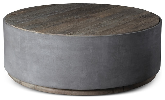 Griffin Round Coffee Table – Transitional – Furniture – In Swell Round Coffee Tables (Photo 7 of 40)