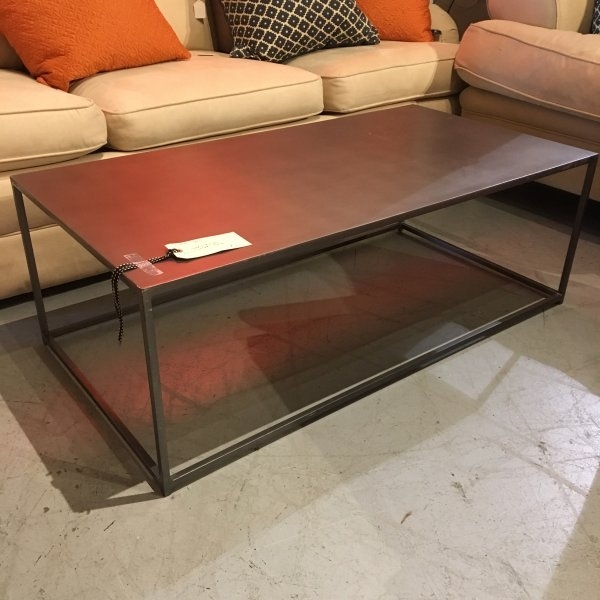 Gunmetal Grey Coffee Table – Consignment Canada Intended For Gunmetal Coffee Tables (Image 15 of 40)