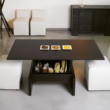 Hacker Help: Coffee To Dining Convertible Table | Interior Design With Regard To Cody Expandable Cocktail Tables (View 12 of 40)