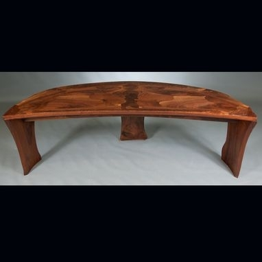 Hand Crafted Abstract Organic Expressionism In Furniture™ Walnut For Expressionist Coffee Tables (Image 27 of 40)