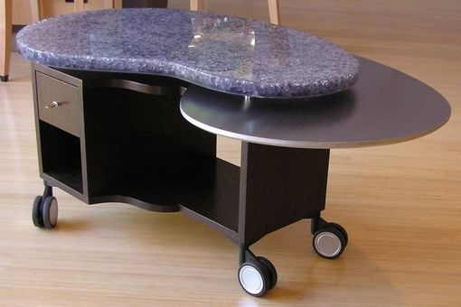 Hand Crafted Rolling Jelly Beanlaurabirnsdesign Eco Furnishings Within Jelly Bean Coffee Tables (Photo 9 of 40)