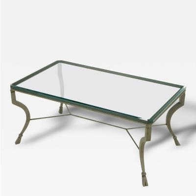 Hand Wrought Iron Stylized Hoof Foot Coffee Table In Gunmetal Grey With Regard To Gunmetal Coffee Tables (Image 19 of 40)