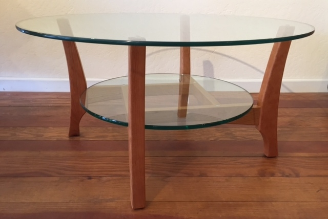 Handcrafted Occasional Furniture – Www.myhandmadehome Inside Contemporary Curves Coffee Tables (Photo 24 of 40)