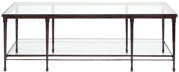 Hardin Cocktail Table / Glass Top P426C – Our Products – Vanguard Regarding Aged Iron Cube Tables (Image 22 of 40)