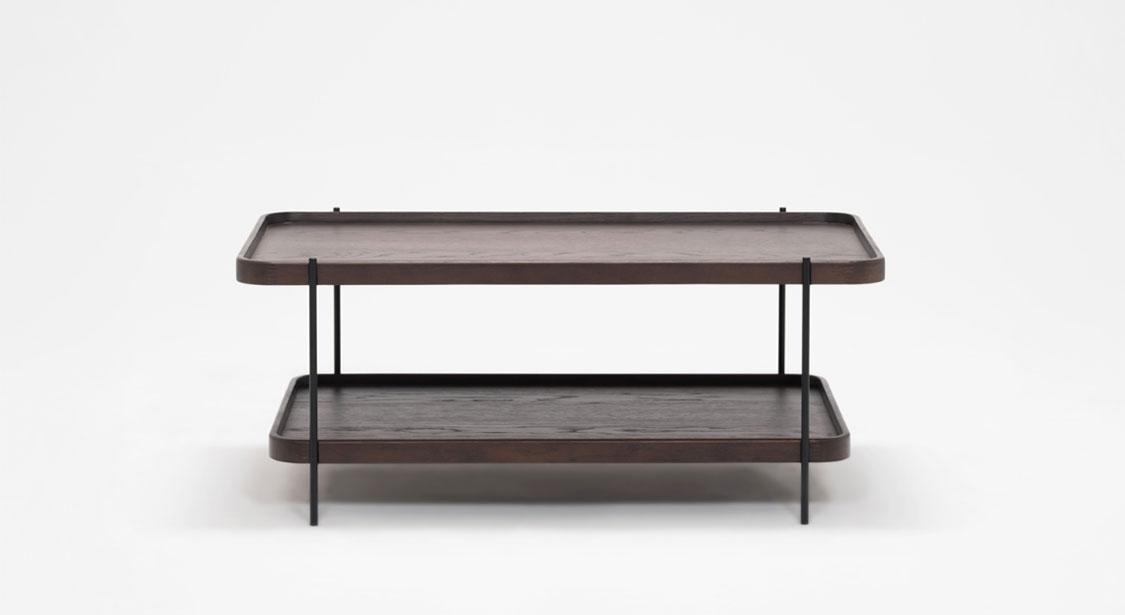 Hausful | Sage Rectangle Coffee Table – Smoked Oak In Smoked Oak Coffee Tables (Photo 15 of 40)