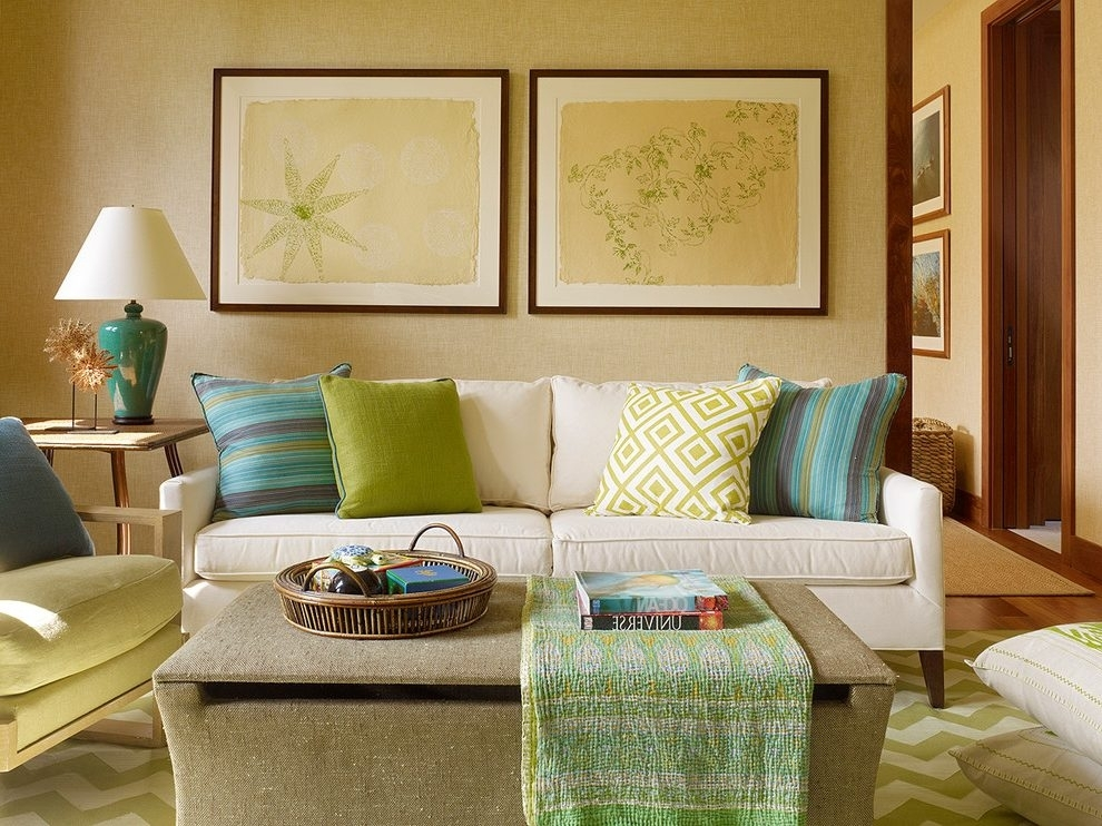 Hawaii Ottoman Coffee Tables Living Room Tropical With Island Intended For Batik Coffee Tables (Image 20 of 40)