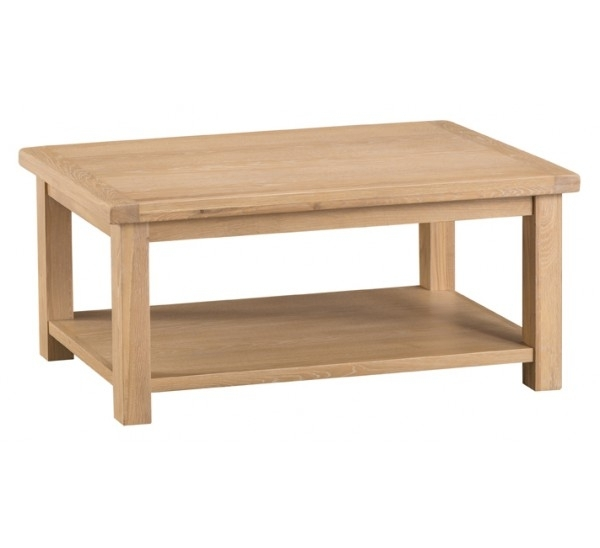 Hawkshead Lime Wash Oak Coffee Table Inside Limewash Coffee Tables (Image 10 of 40)