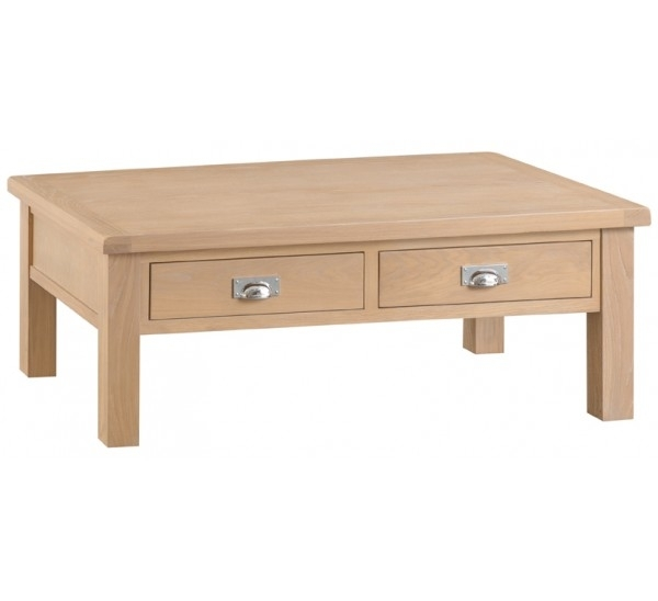 Hawkshead Lime Wash Oak Large Coffee Table For Limewash Coffee Tables (Image 11 of 40)