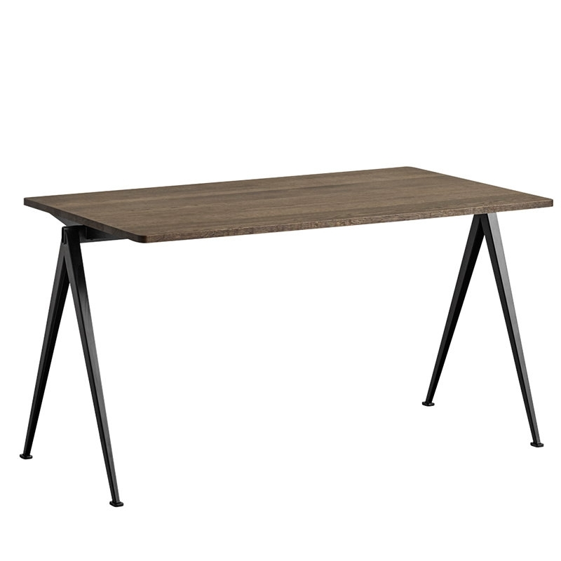 Hay Pyramid Table 01, Black – Smoked Oak | Finnish Design Shop For Smoked Oak Coffee Tables (Image 14 of 40)