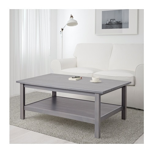 Hemnes Coffee Table – White Stain – Ikea Pertaining To White Wash 2 Drawer/1 Door Coffee Tables (View 35 of 40)