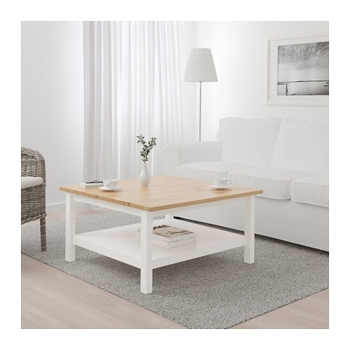Hemnes Coffee Table – White Stain/light Brown – Ikea Within Light Natural Coffee Tables (View 17 of 40)