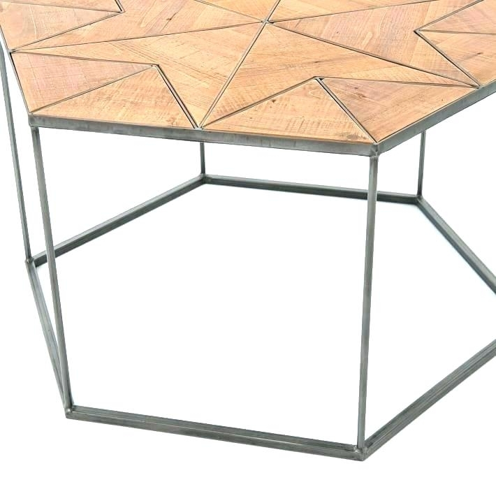 Hex Side Table – Jwaydesinz Pertaining To Geo Faceted Coffee Tables (Image 15 of 31)