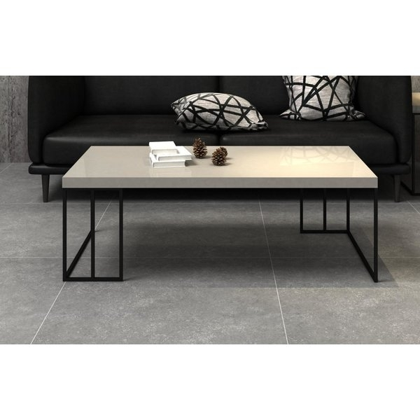 High Gloss Coffee Table | Wayfair Within Stack Hi Gloss Wood Coffee Tables (Image 13 of 40)