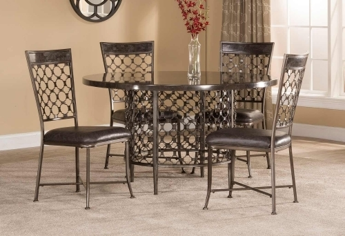 Hillsdale Brescello Collection | Brescello Casual Dining Set Intended For Combs Cocktail Tables (Image 18 of 40)