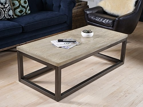 Hives And Honey Haven Home Modern Crosby Mineral Grey Coffee Table In Haven Coffee Tables (Photo 22 of 40)