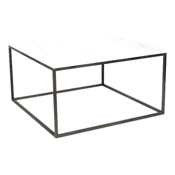 Home Decorators Coffee Table Glass Metal Coffee Table Gold And With Regarding Aged Iron Cube Tables (Image 23 of 40)
