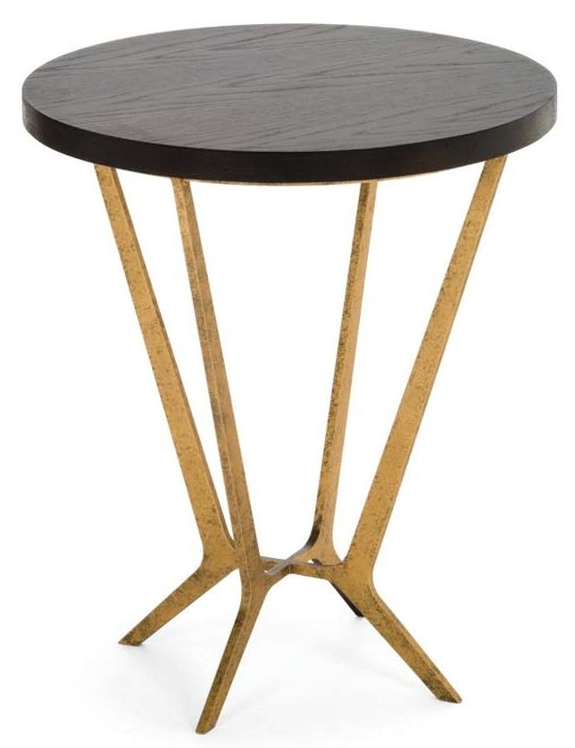 Hondrum Side Tabledecorus In Side Tables In Smoked Oak Side Tables (Image 13 of 40)