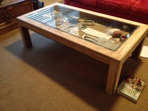 How To Build Glass Top Shadow Box Coffee Table | Craft | Pinterest Throughout Market Lift Top Cocktail Tables (Image 17 of 40)