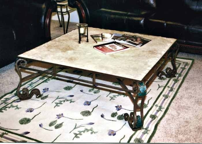 How To Clean Marble Top Coffee Table — Burlap & Honey Decor Regarding Modern Marble Iron Coffee Tables (Image 15 of 40)