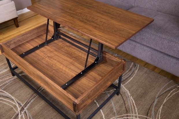 How To Make A Coffee Table With Lift Top In 2018 | For The Home With Regard To Candice Ii Lift Top Cocktail Tables (Image 20 of 40)