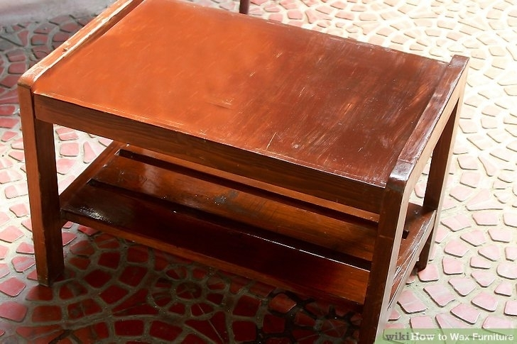 How To Wax Furniture: 6 Steps (With Pictures) – Wikihow Throughout Waxed Metal Coffee Tables (Image 20 of 40)