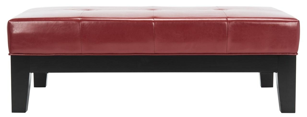 Hud4066R Ottomans – Furnituresafavieh Pertaining To Jordan Cocktail Tables (Photo 8 of 40)