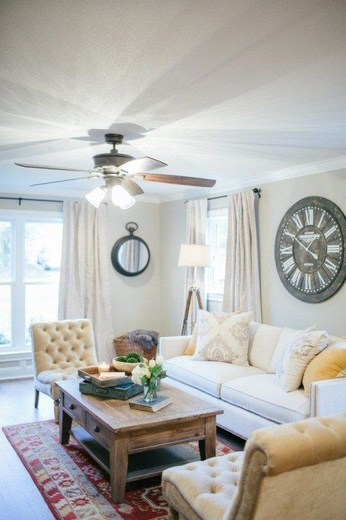 I Love Fixer Upper And This Coffee Table! | Clocks | Pinterest With Magnolia Home Louver Cocktail Tables (Image 9 of 39)