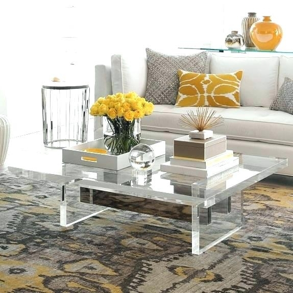 Ikea Lucite Coffee Table – Aaipl (Image 15 of 40)
