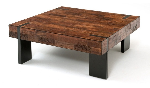 Impressive Rustic Modern Wood Furniture Modern Rustic Coffee Table Intended For Modern Rustic Coffee Tables (Image 13 of 40)