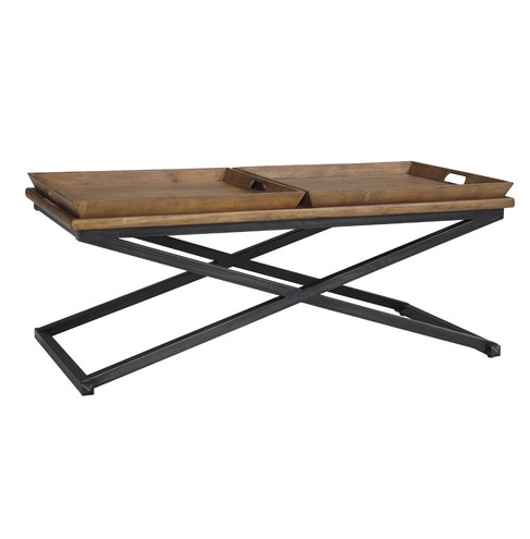Industrial Coffee Table – Look 4 Less And Steals And Deals (Image 11 of 40)