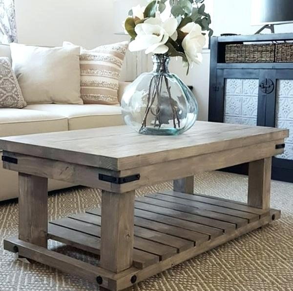 Industrial Coffee Tables Industrial Coffee Table Handmade Haven Diy With Haven Coffee Tables (Photo 16 of 40)