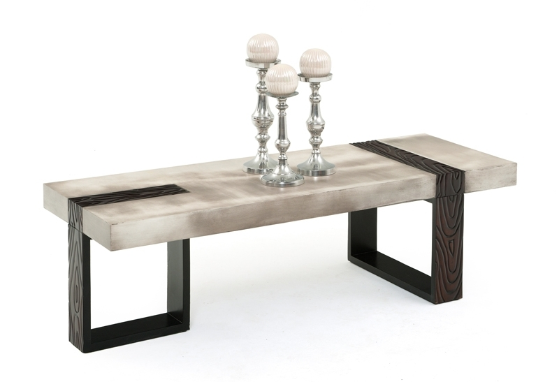 Industrial Modern Coffee Table, Modern Rustic, Custom Sizes With Regard To Modern Rustic Coffee Tables (Image 15 of 40)