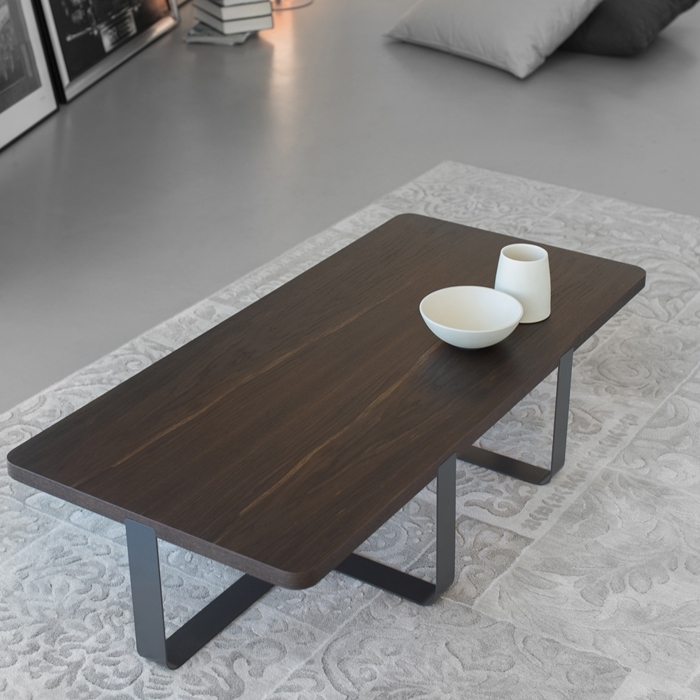 Inn 2 – Coffee Table With Smoked Oak Top Throughout Smoked Oak Coffee Tables (Image 18 of 40)