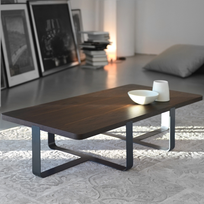 Inn 2 – Coffee Table With Smoked Oak Top With Smoked Oak Coffee Tables (Image 19 of 40)
