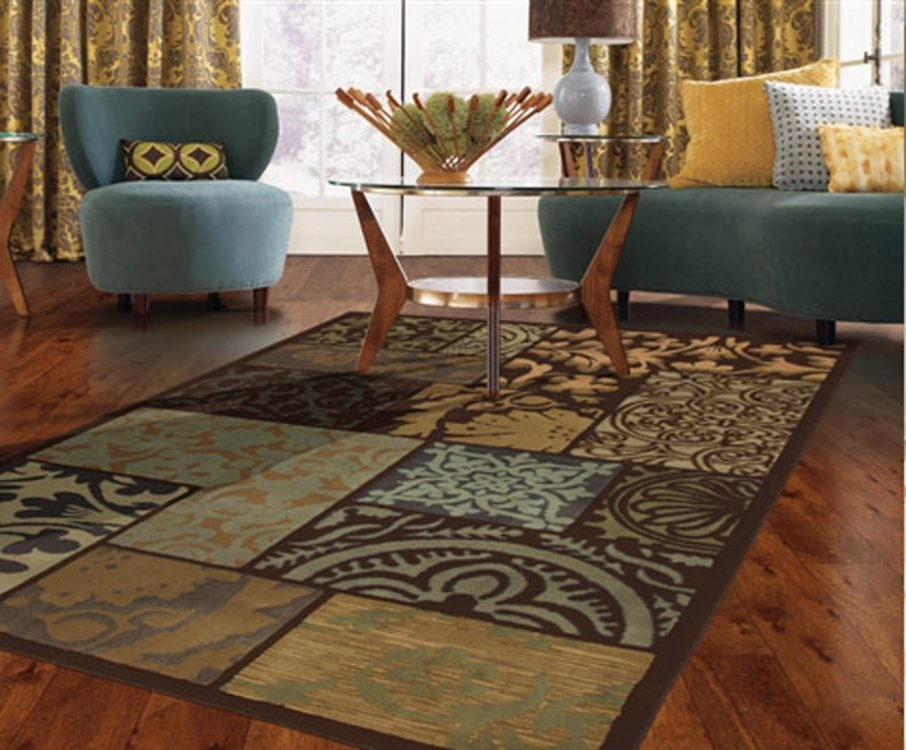 Interior Living Room Decoration With Brown Pattern Batik Rectangle Inside Batik Coffee Tables (Image 21 of 40)