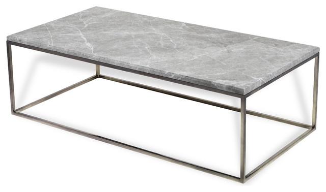 Interlude Clovis Tables, Mushroom Gunmetal, Cocktail Table Pertaining To Gunmetal Coffee Tables (Image 22 of 40)
