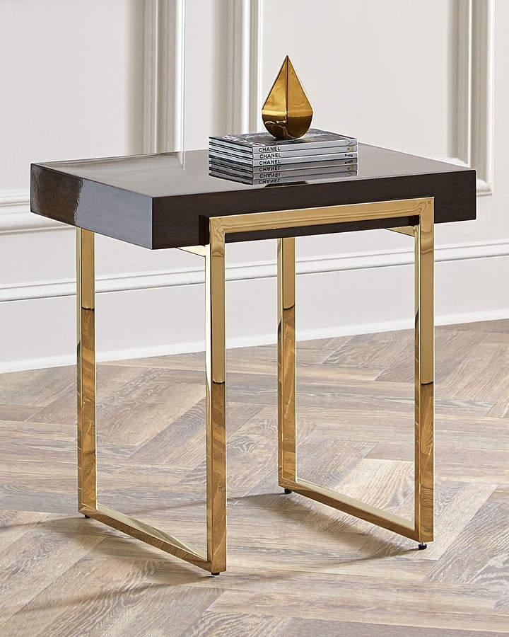 Interlude Home Cronyn Veneer Side Table | Decoration | Pinterest In Jackson Marble Side Tables (Image 19 of 40)