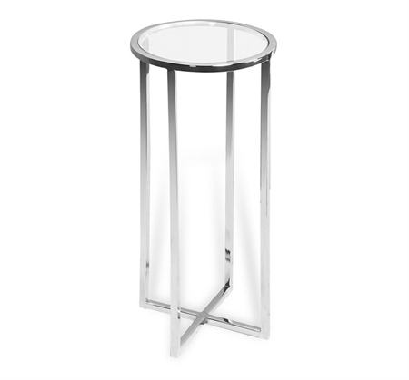 Interlude Home – Zander Round Drink Table Intended For Zander Cocktail Tables (View 11 of 40)