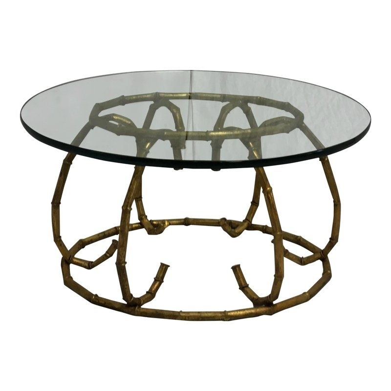 Italian Faux Bamboo Cocktail Table | Products | Pinterest | Faux For Combs Cocktail Tables (Photo 10 of 40)