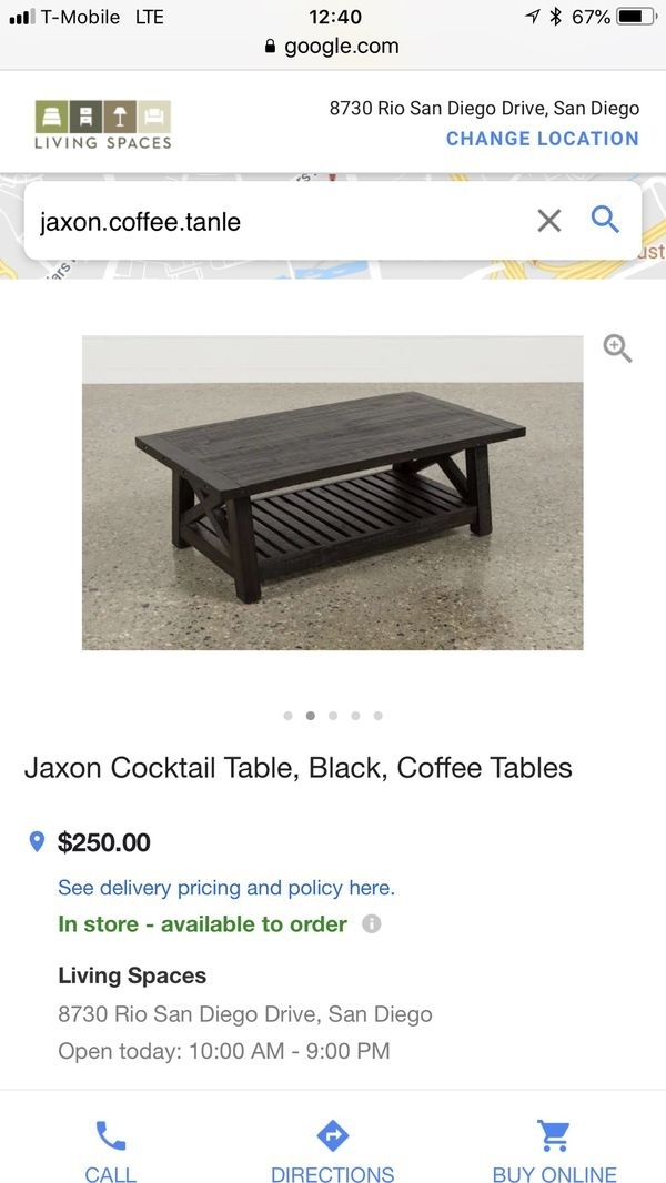 Jaxon Mirror For Sale In San Diego, Ca – Offerup Regarding Jaxon Cocktail Tables (View 17 of 40)